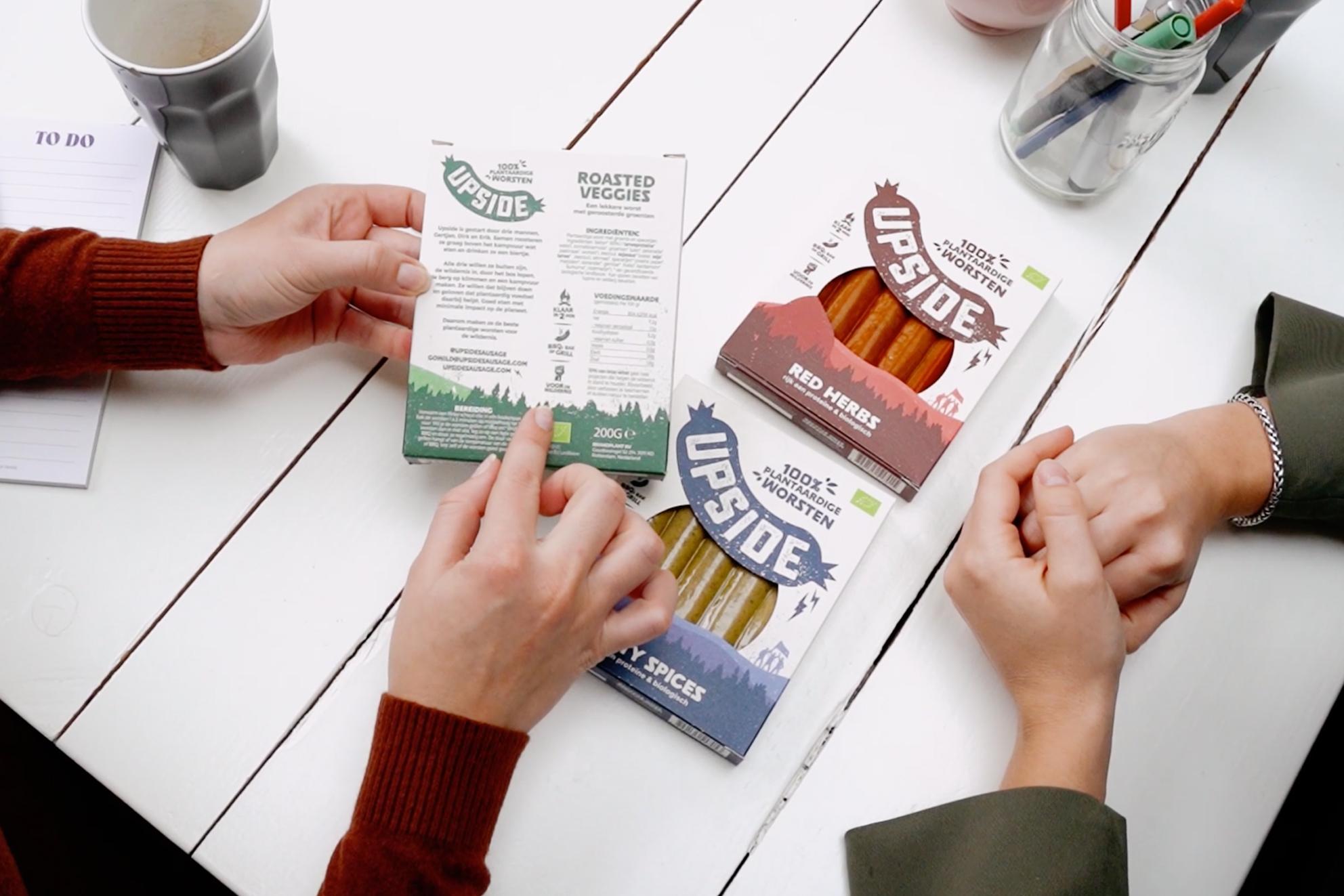 Grafisch ontwerp van labels en verpakkingen. Doorontwikkeling van je bestaande merk