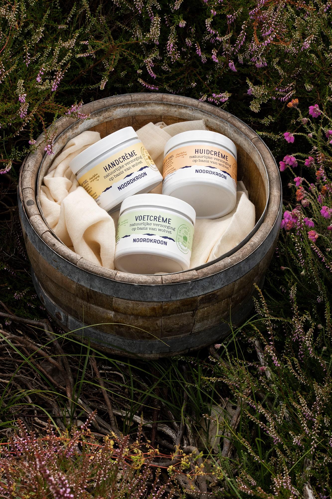 Sterk Verpakkingsontwerp van tubes en potten van crème en huidverzorging in Nederland