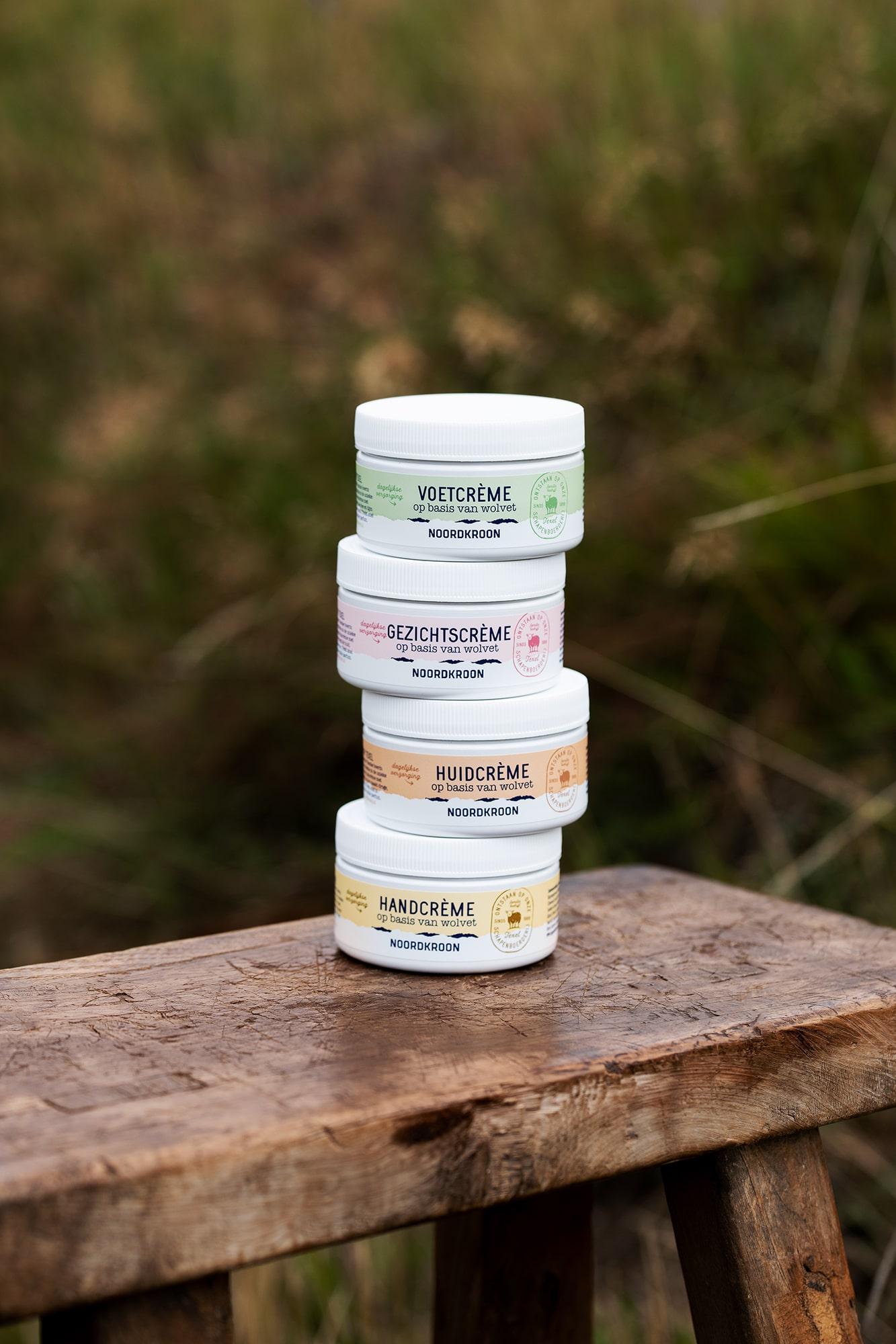Strategisch verpakkingsdesign van een merk met natuurlijke huidverzorging voor retail en winkels